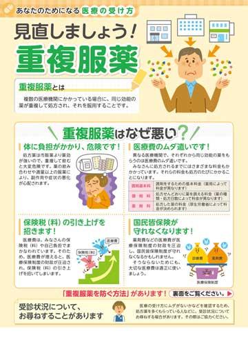 見直しましょう! 重複服薬 | 株式会社東京法規出版